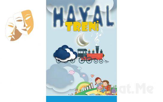 """1001 Sanat'tan """"HAYAL TRENİ"""" Tiyatro Oyun Bileti!"""