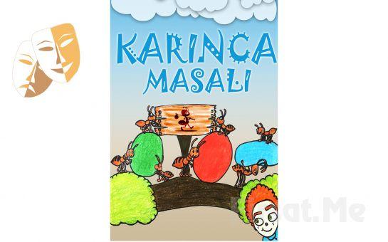 1001 Sanat'tan KARINCA MASALI Çocuk Tiyatro Oyun Bileti!