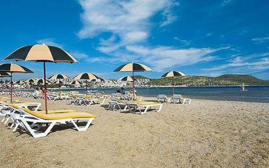 Costa Bianca Beach Bitez Bodrum'da Uçak Bileti ve Her Şey Dahil Konaklama Paketleri