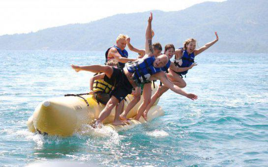 Marmaris'te Denizle Adrenalini Buluşturan Jet Ski, Banana, Ringo Su Eğlence Sporları!