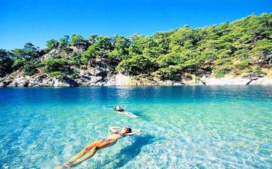 Öğle Yemeği Dahil Marmaris Sedir Adası ve Kleopatra Plajı Günübirlik Tekne Turu!