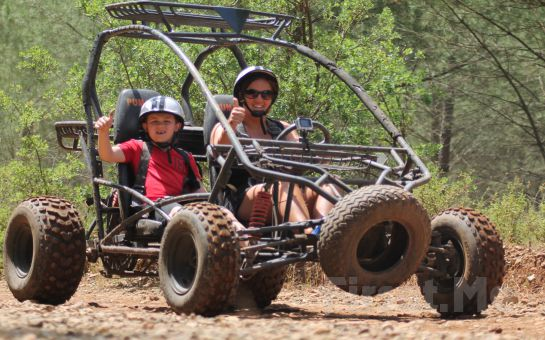 Marmaris'te Adrenalin Dolu Atv (Quad) veya Buggy Safari Turu