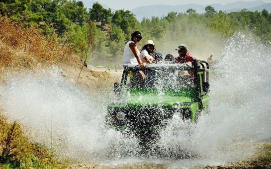 Marmaris Öğle Yemeği Dahil Eğlence ve Heyecan Yüklü Jeep Safari Turu!