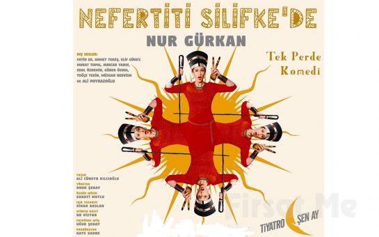 """Nur Gürkan'dan Tek Kişilik """"NEFERTİTİ SİLİFKE'DE"""" Tiyatro Oyun Biletleri!"""