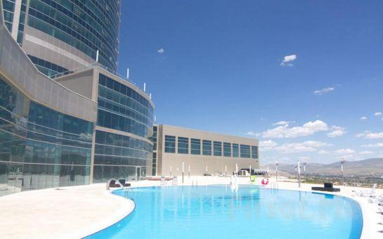 Ramada Resort Kırşehir Thermal ve Spa'da Yarım Pansiyon Konaklama ve Termal Tesisi Kullanımı