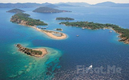 Karyada Gemicilik ve Yat Turizm'den 4 Gün 3 Gece Fethiye - 12 Adalar Tekne Turu ve Tatil Keyfi
