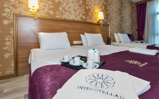 İstanbul Merter Interstellar Hotel'de Konaklama, Kahvaltı ve Spa Keyfi!