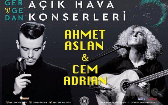 27 Mayıs'ta Ankara ODTÜ Vişnelik'te Cem Adrian ve Ahmet Aslan Konser Giriş Bileti