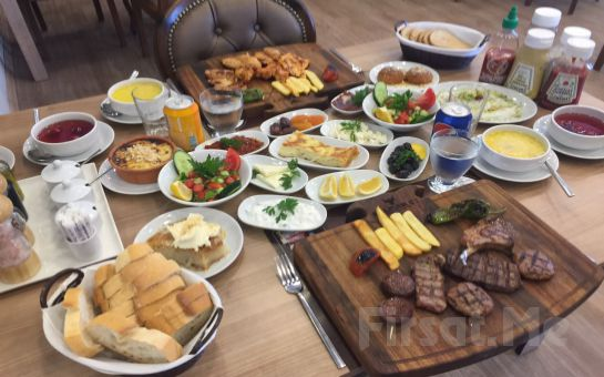 Darıca Emsa Palace Hotel Salman Steak House'da Leziz İftar Menüleri!