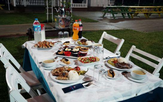 Ayşe Teyze Bağ Bahçe'de Doğayla İç İçe Lezzetli Ramazan İftar Menüsü