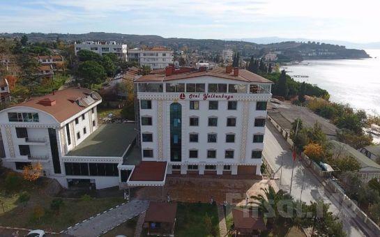 Yelkenkaya Otel Darıca'da Kahvaltı Dahil 2 Kişilik Denize Sıfır Konaklama Keyfi