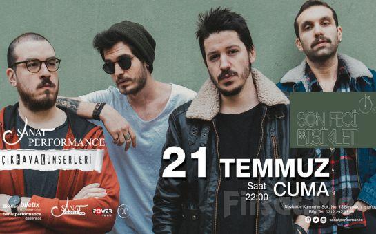Beyoğlu Sanat Performance'ta 21 Temmuz'da SON FECİ BİSİKLET Açık Hava Konseri Giriş Bileti!