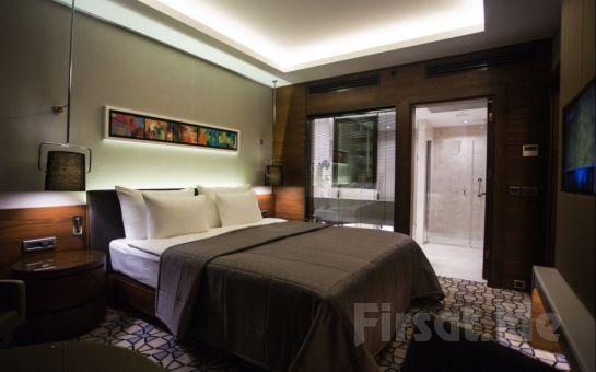 Bahçelievler Yenibosna'da Steigenberger Airport Hotel İstanbul'da 2 Kişi 1 Gece Konaklama Seçenekleri
