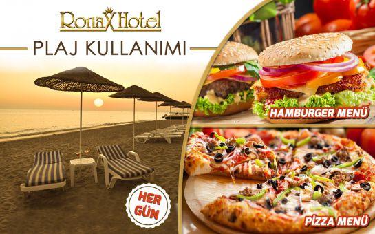 Kumburgaz Ronax Hotel'de Tüm Gün Plaj Kullanımı + Şezlong + Öğle Yemeği + 1 Adet Meşrubat Fırsatı! (Haftanın Her Günü Geçerli!)