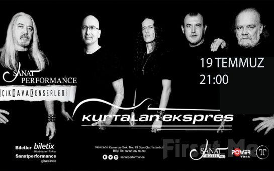 Beyoğlu Sanat Performance'ta 19 Temmuz'da KURTALAN EKSPRES Açık Hava Konseri Giriş Bileti!