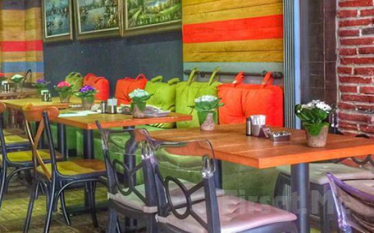 Ortaköy Seaside Bistro'da Serpme Kahvaltı veya 75 çeşitten Oluşan Açık Büfe Kahvaltı Keyfi