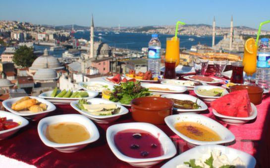 Süleymaniye Şehr-i Saadet Cafe'de Deniz Manzarası Eşliğinde Serpme Kahvaltı Keyfi!