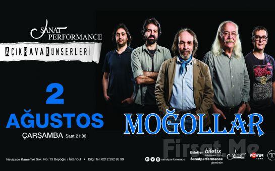 Beyoğlu Sanat Performance'ta 2 Ağustos'ta MOĞOLLAR Açık Hava Konseri Giriş Bileti
