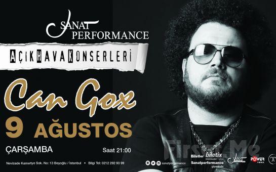 Beyoğlu Sanat Performance'ta 9 Ağustos'ta CAN GOX Açık Hava Konseri Giriş Bileti