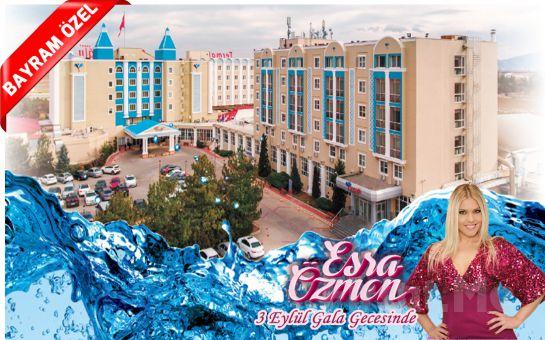 Türkiye'nin İlk 5 Yıldızlı Termal SPA ve Sağlık Oteli Afyon Oruçoğlu Termal Resort Otel'de Kişi Başı 1 Gece Oda Kahvaltı veya Yarım Pansiyon Konaklama Keyfi! (Bayram Seçeneğiyle)