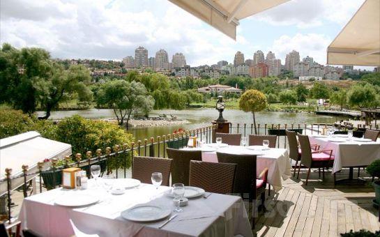 Bahçeşehir Göl Et Restaurant'ta Nefis Manzara Eşiliğinde Serpme Kahvaltı Keyfi