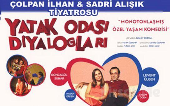 """Levent Ülgen ve Goncagül Sunar'ın Performansları ile """"Yatak Odası Diyalogları"""" Tiyatro Oyun Bileti!"""