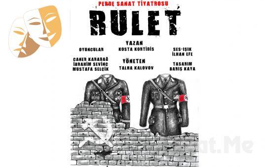 """Perde Sanat Tiyatrosu'ndan Ödüllü """"Rulet"""" Adlı Drama Tiyatro Oyunu!"""