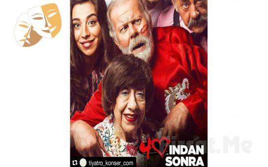"""Ayşen Gruda'nın Muhteşem Performansı ile """"40'ından Sonra"""" Tiyatro Oyun Bileti!"""
