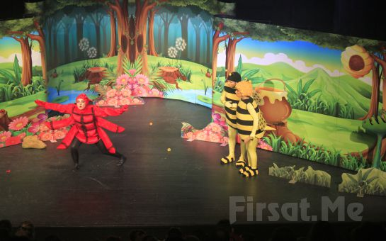 Ünlü Çizgi Karakter 'Arı Maya - Kayıp Kıta Amazon Tiyatro Oyun Bileti
