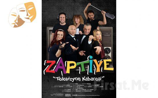 """Müzikli ve Danslı """"Zaptiye - Televizyon Kabaresi"""" Tiyatro Oyun Bileti!"""