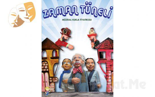 """1001 Sanat Merkezi'nde Sütlaç Prodüksiyon'dan """"ZAMAN TÜNELİ"""" Müzikal Kukla Tiyatro Oyun Bileti!"""