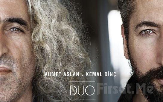 Anadolu Müziğinin Ünlü Sanatçıları Ahmet Aslan & Erdal Erzincan Konser Giriş Biletleri!