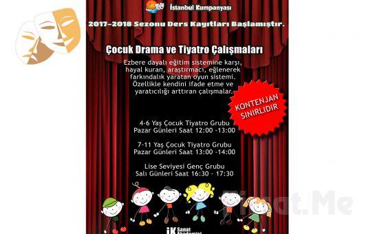 Çocuğunuzun Yeteneklerini Keşfedin! İstanbul Kumpanya'sından Çocuklar İçin 1 Aylık Yaratıcı Drama ve Tiyatro Eğitimi!