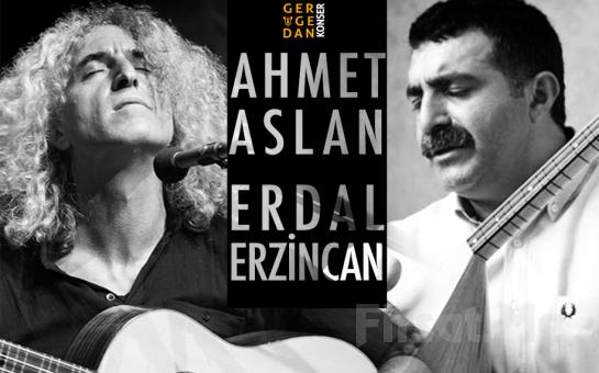 Anadolu Müziğinin Ünlü Sanatçıları Ahmet Aslan, Erdal Erzincan Konser Giriş Biletleri