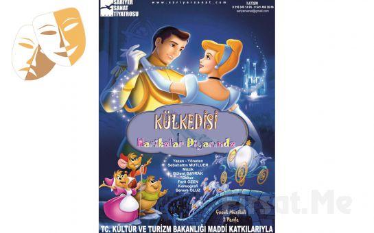 Klasik Masal Kahramanı 'Kül Kedisi Harikalar Diyarında' Çocuk Tiyatro Oyun Bileti