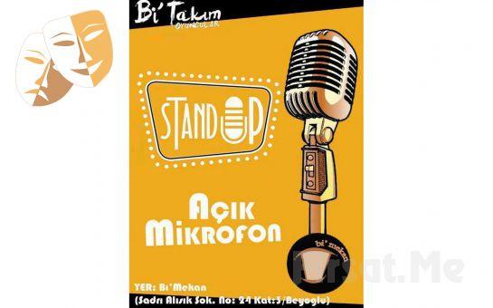 Bi'mekan Sahne'de Her Cuma Açık Mikrofon Stand-up Gösteri Giriş Biletleri