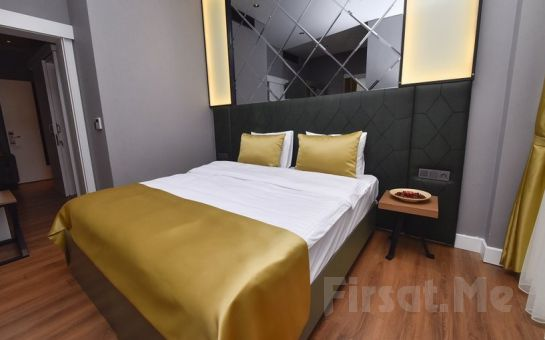 Ata City Hotel Ataşehir'de 2 Kişilik Konaklama ve Kahvaltı Seçenekleri