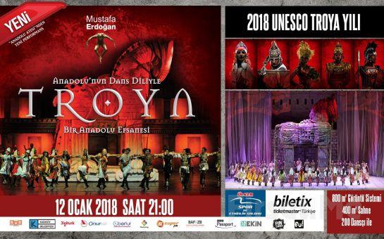 Ülker Spor ve Etkinlik Salonu'nda 12 Ocak'ta TROYA Gösterisi Büyük İstanbul Gösterisi Giriş Biletleri