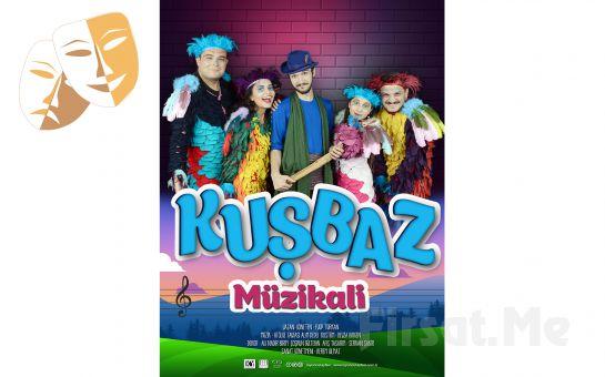1001 Sanat'tan KUŞBAZ Müzikli Çocuk Tiyatro Oyun Bileti