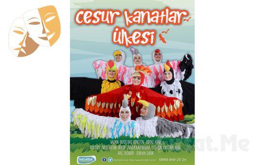 Çocuklarınız için Tek Perde CESUR KANATLAR ÜLKESİ Tiyatro Oyunu Bileti