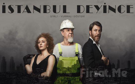 Kats Sahne'de Her Perşembe İstanbul Deyince Şiirli Gösteri Bileti