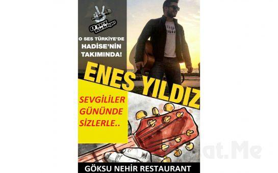 Anadolu Hisarı'nda Aşk Başkadır Göksu Nehir Restaurant'ta Sevgililer Gününe Özel Canlı Müzik Eşliğinde Akşam Yemeği