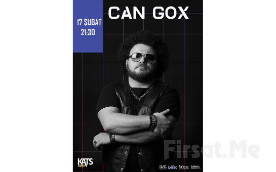Kats Sahne'de 17 Şubat'ta CAN GOX Konser Giriş Bileti