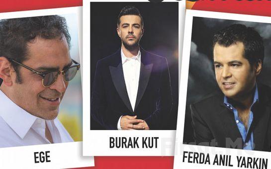 Beyoğlu Sanat Performance'ta 16 Şubat'ta Burak Kut, Ege , Ferda Anıl Yarkın ile 90'lar Festivali Biletleri