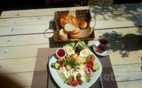 Gümüşdere Atlı Tur'da Organik ürünlerden Oluşan Kahvaltı Keyfi