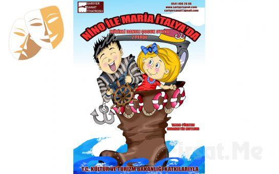Çocuklarınız İçin Nino ile Maria İtalya'da Tiyatro Oyun Bileti
