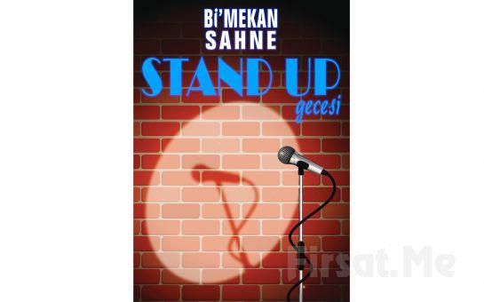 Bi'mekan Sahne'de Her Cumartesi Açık Mikrofon Stand-up Gösteri Giriş Biletleri