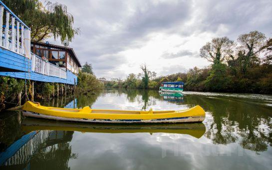 Ağva Temmuz Otel'de Nehir Kenarında Hafta İçi Serpme, Hafta Sonu Açık Büfe Kahvaltı