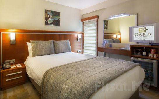 Orka Royal Otel Sirkeci'de Kahvaltı Dahil Çift Kişilik Konaklama Seçenekleri