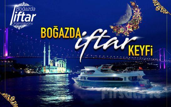 Boğaz'da Davet Tekneleri'nde Boğaz Turu ve Fasıl Eşliğinde İftar Menüsü
